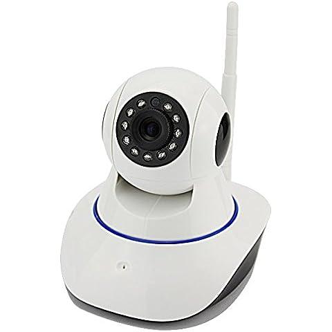 Sistema de alarma integrado compuesto por kit: Cámara ip inalámbrica de alta resolución, con control de movimiento pt. Soporte +
