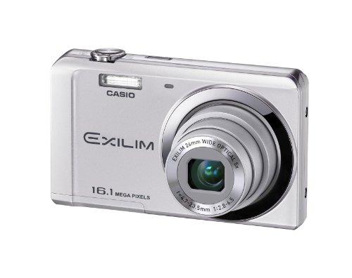 Casio Exilim EX-ZS6 Digitalkamera (16 Megapixel, 5-fach opt. Zoom, 6,9 cm (2,7 Zoll) Display, bildstabilisiert) silber Casio Exilim