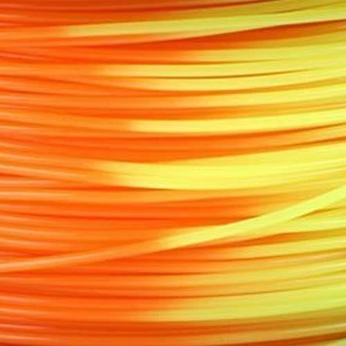 3DZ PLA Temp. Filamento per stampante 3D, 1,75 mm, rosso/arancione/giallo