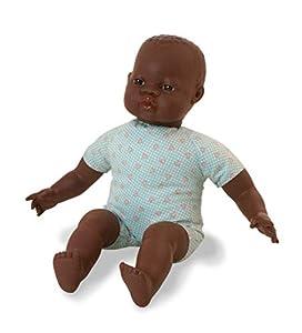 Miniland- Baby Africano Europeo 40cm Muñeco, Color (31063)