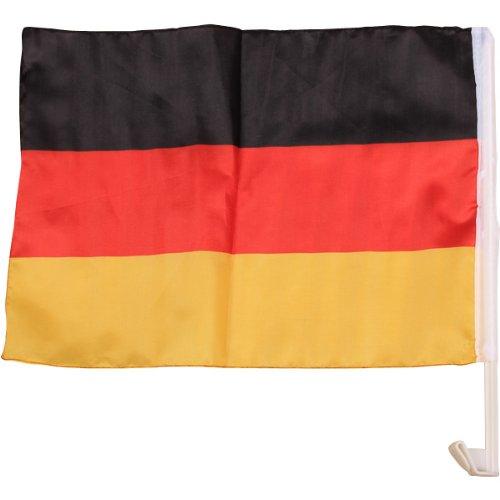 Autofahne Autoflagge Auto Fenster Fahne Flagge DEUTSCHLAND