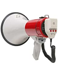 Califone PA25R Handheld Megaphone with Siren Mode by Califone
