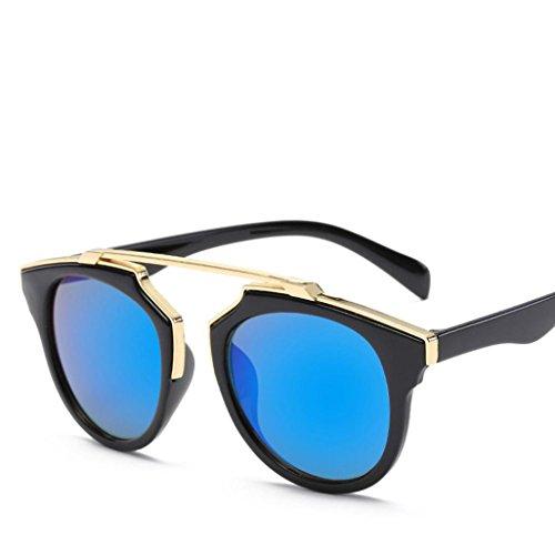 Männer Frauen Platz Vintage Verspiegelte Sonnenbrille Brille Sportbrille Von Xinan (♥, (Männer Kostüme Frauen X)