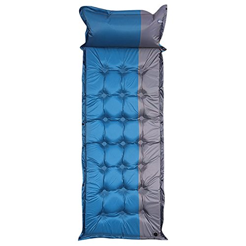 selbstaufblasbare Matratzen Isomatte mit Kissen Tragbares Isomatte / Matratze für Zelt im Camping Wandern und Outdoor-Aktivitäten von Qisan