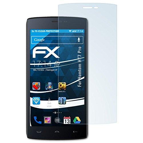 atFolix Schutzfolie kompatibel mit Homtom HT7 Pro Folie, ultraklare FX Bildschirmschutzfolie (3X)