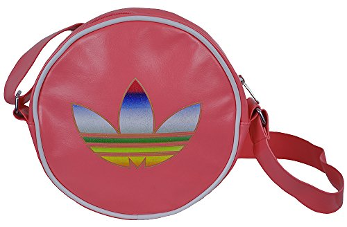 Adidas Disco Shoulder Bag Womens Retro Originals Messenger Pink