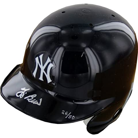 MLB New York Yankees Yogi Berra Autographed Mini Helmet