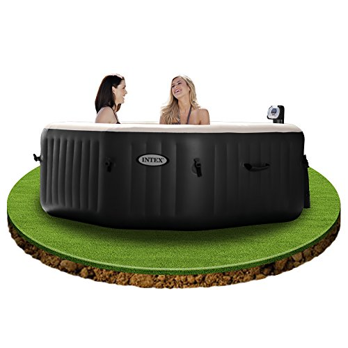 intex 28454 pure spa 79 zoll octagon bubble jet und salzwassersystem. Black Bedroom Furniture Sets. Home Design Ideas