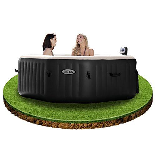 intex 28454 pure spa 79 zoll octagon bubble jet und salzwassersystem. Black Bedroom Furniture Sets. Home Design Ideas