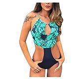 Costumi da Bagno Donna VJGOAL Sexy Intero Modellante Fascia Imbottita Vita Alta Micro Bikini Brasiliana Mare Prime di Marca Offerte Costume da Bagno Donna Intero Bambina Trikini Curvy Push Up Bianco