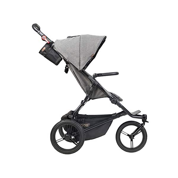 Mountain Buggy Model: Urban Jungle Luxury Collection Herringbone Including Changing Bag and Baby seat (carrycot Plus) Mountain Buggy Box contents: 1 Mountain Buggy Urban Jungle Luxury Collection Herringbone including changing bag and baby seat (carrycot plus) Product weight: 11.5 kg Seat load: 25 kg 3