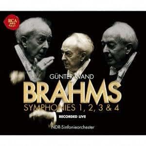 Brahms:Symphonies No.1-No.4