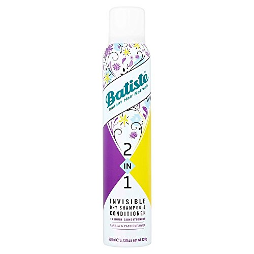 Batiste Dry Shampoo - Vanilla and Passion Flower 2-in-1, 200ml
