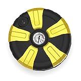 Edelehu Tragbare Auto Luft Voreingestellt Reifendruck Matratze Betten Boote Schwimmring Quick-Fill Air 12V Auto Reifen Inflator Digital Reifen Pumpe