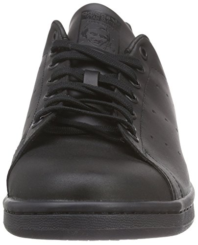 adidas Stan Smith, Baskets Basses Homme Noir (Black/Black)