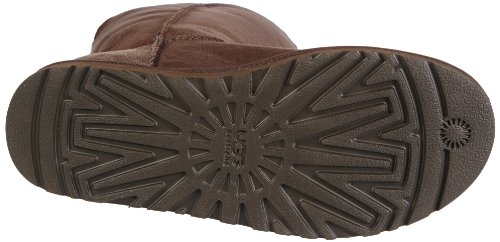UGG 1873 Bailey Button Triplet, Bottes femme marron/chocolate brown