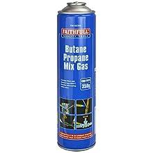 Faithfull PAN43 350g Butane Propane Gas Cartridge