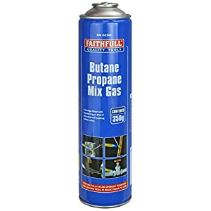 Faithfull PAN43 350g Butane Propane Gas Cartridge FAIGZ350