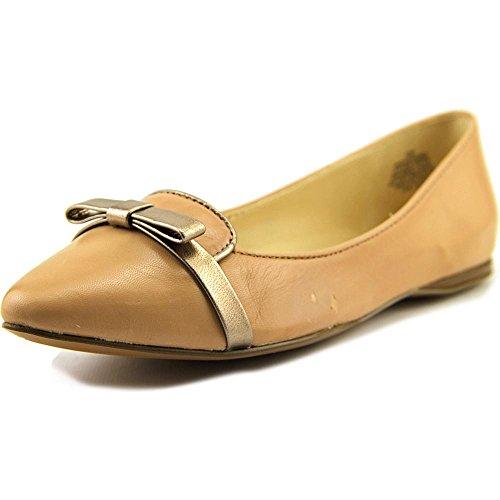 Nine West Saxiphone Cuir Chaussure Plate LtNa-Nat