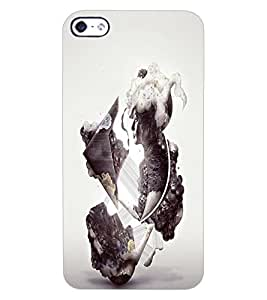 ColourCraft Creative Image Design Back Case Cover for APPLE IPHONE 4