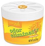 CALIFORNIA SCENTS - Car Air Freshener, Odor Eliminator, Citrus Twist, 5.2-oz. gel