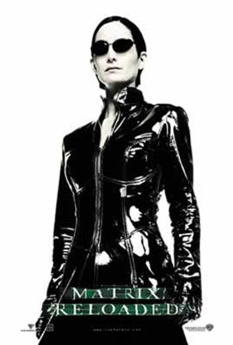 Click for larger image of Empire 207883 Film Poster The Matrix Reloaded Trinity Full Image 70 x 100 cm