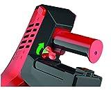 Dirt Devil DD698-1 Cavalier Kabelloser multifunktionaler Akku-Handstaubsauger ohne Beutel, 21,6 V Li-Ion, Turbobürste, 3-in-1 Kombidüse, silber / rot -