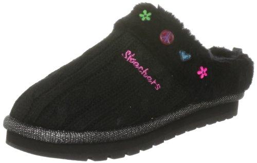 Skechers Keepsakes Sugar Cookie 88668L, Chaussures fille Noir-TR-DP