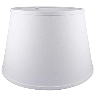 American Pride Lampshade Co. Lampshade, Cotton, White