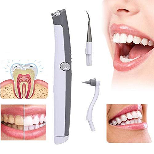 JERALD GATES 1 STÜCKE Weiß Elektrische Ultraschall Sonic Pic Zahn Fleck Radiergummi Plaque Remover Zahnwerkzeug Zahnaufhellung Zahnreinigung Scaler