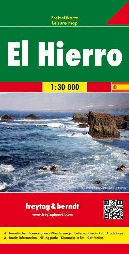 El Hierro, Autokarte 1:30.000: Toeristische wegenkaart 1:30 000 (freytag & berndt Auto + Freizeitkarten) -