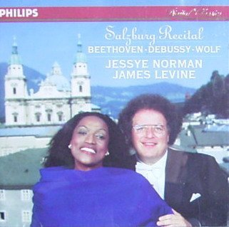 Salzburg Recital-Jessye Norman-Levine-Beethoven-Wolf-Debussy