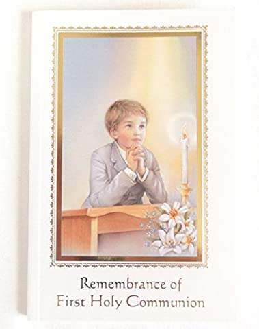 Boy Missal Remembrance of First Holy Communion Paperback