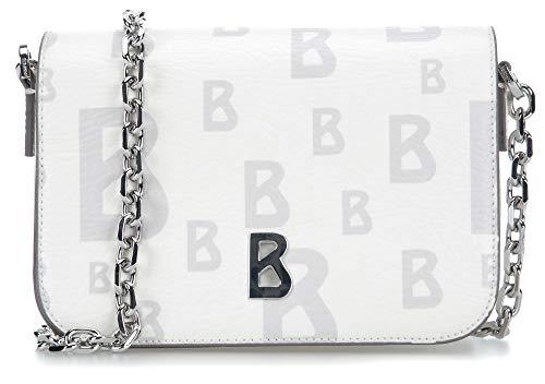 Bogner Damen Arosa Irene Shoulderbag Xshf Schultertasche, Weiß (Offwhite) 5.5x12x20 cm -