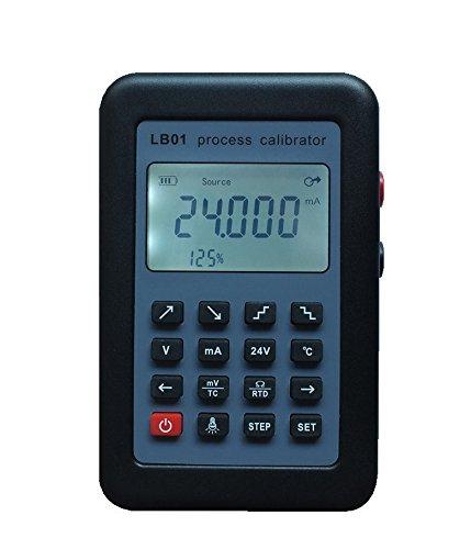 LB01 Thermoelement Strom-Voltmeter Signal-Generator Quell-Kalibrator Prozesskalibrierer 4-20 mA/0-10 V/mV