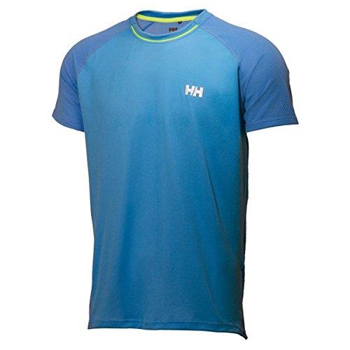 Helly Hansen Pace Mesh Lifa Flow T-Shirt SS Azul (Azure Blue 512)