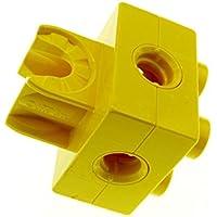 1 x Lego Toolo Duplo Stein gelb 2x2 Arm Halterung Clip Verbinder 74957