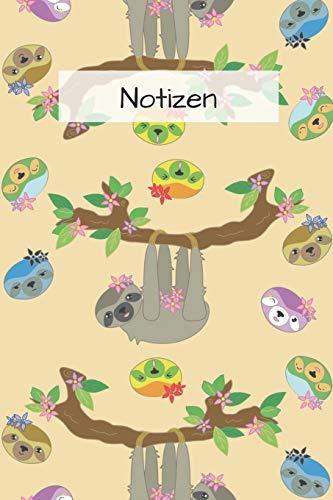 Faultier Notizbuch / Tagebuch: A5+ mit 120 Seiten dotgird  (Punkteraster) | lustiges Geschenk für Faultier Liebhaber | a5+