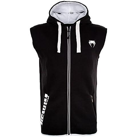 Venum Contender 2.0 Sweat-Shirt à Capuche Homme, Noir/Blanc, FR :
