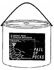 Hockey Puck Pail by Viceroy Rubber & Plastics
