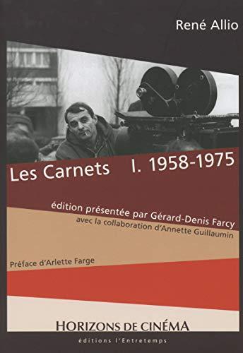 Les Carnets - tome 1 1958-1975 (1) par Rene Allio