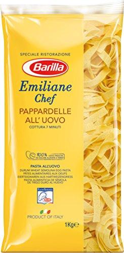 Barilla Pasta Nudeln Emiliane Chef Pappardelle all' Uovo, 3er Pack (3 x 1 kg)