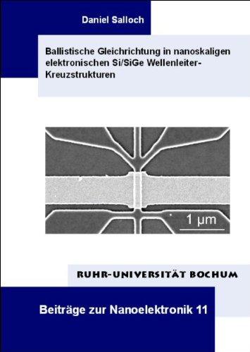 Ballistische Gleichrichtung in nanoskaligen elektronischen Si/SiGe Wellenleiter-Kreuzstrukturen