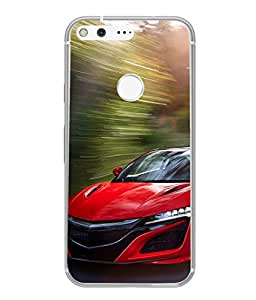 Fuson Designer Back Case Cover for Google Pixel XL (Luxury car Speed Vacation NFS Holiday)