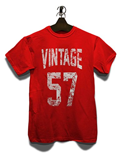 Vintage 1957 T-Shirt Rot