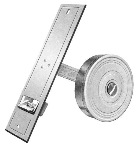 Schellenberg 50400 Einlasswickler Maxi für 23 mm Rolladengurt-Breite, Lochabstand 18,5 cm