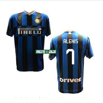 MAESTRI DEL CALCIO Maglia Replica Ufficiale Alexis Sanchez 7' F.C. Inter 2019/2020