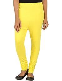 EAGLE Women Yellow Color Leggings