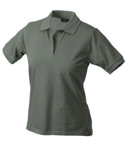 James + Nicholson Klassisches Ladies Poloshirt JN 071 Grün - Grün