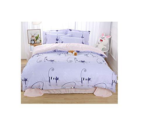 The Unbelievable Dream Bettbezug doppelseitige bettwäsche Set Baumwolle waschbar einfache niedliche Kinder Kinder Erwachsene Traum kitt-y, 4
